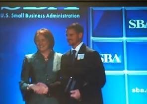 SBA-Presents-Award-To-Thomas-H-Douglas-Commemorating-2013-Small-Business-Person-of-the-Year-Nomination