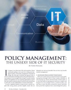 MIBA Policy Management Article