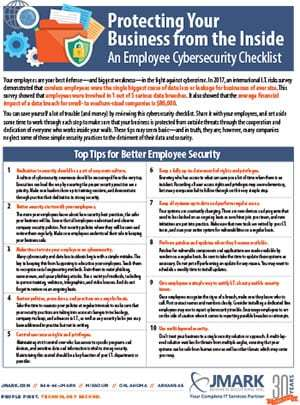 Employee-Security-Checklist