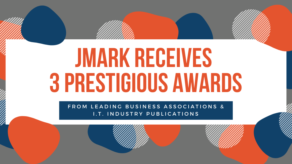 JMARK RECEIVES 3 PRESTIGIOUS AWARDS