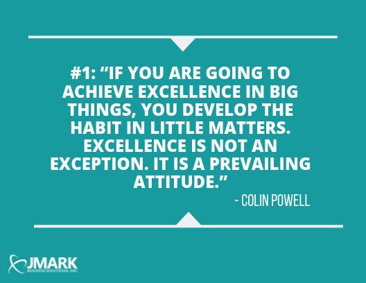 33 Great Quotes On Excellence That Inspire JMARK