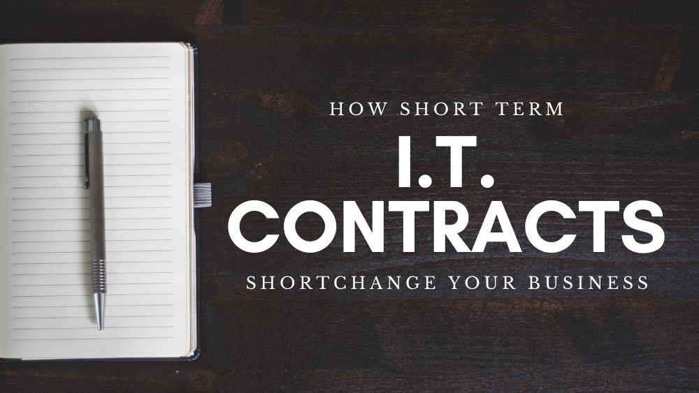 Banner - How Short Term I.T. Contracts Shortchange Your Business - Big