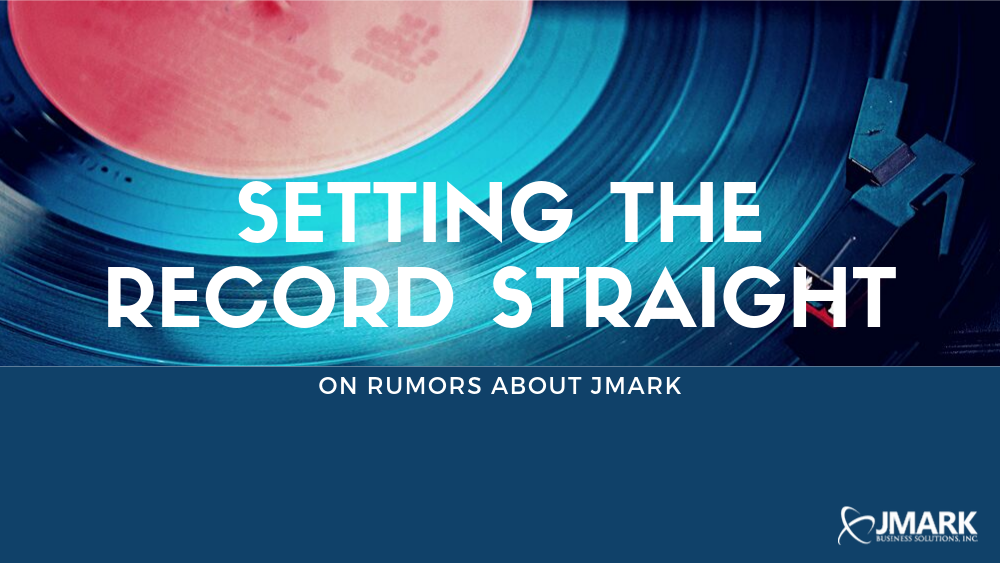 Setting the Record Straight on Rumors About JMARK - Blog Banner