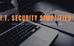 I.T. Security Simplified, What You Really Need to Understand