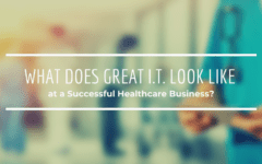 What Does Great I.T. Look Like at a Successful Healthcare Business?