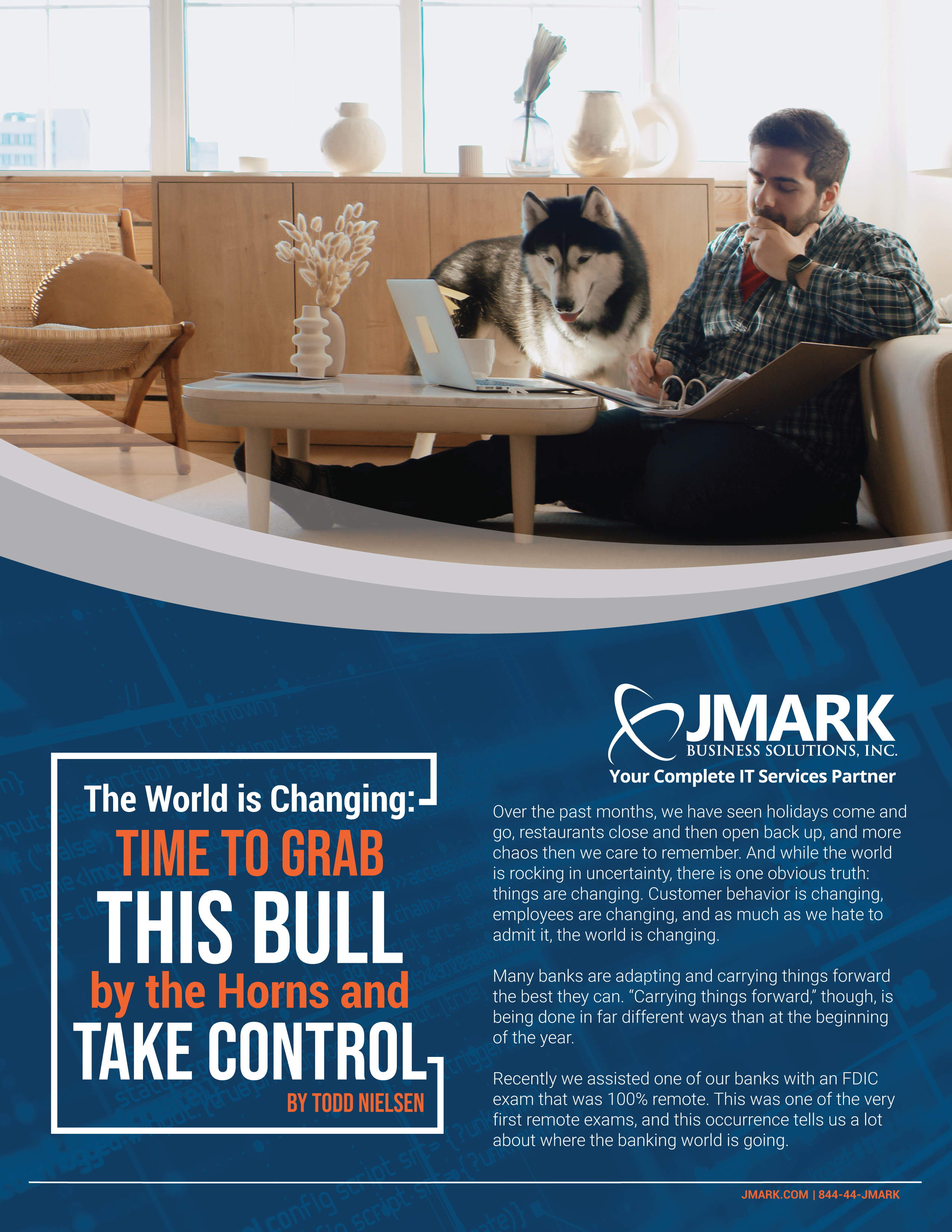 The World is Changing - Time to Grab This Bull by the Horns